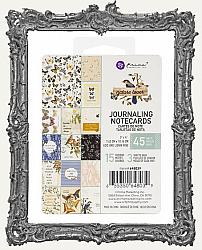 Prima - Nature Lover Collection - 3 x 4 Journaling Cards - Pack of 45