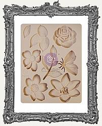 Prima Art Decor Mould - Watercolor Floral