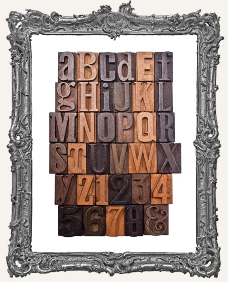 Tim Holtz - Idea-ology - Letterpress Blocks