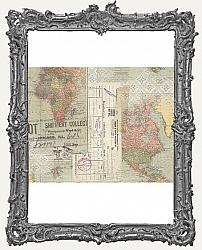Tim Holtz - Idea-ology - Travel Collage Paper