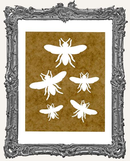 SMALL Bee Stencil