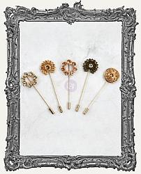 Prima Memory Hardware Embellishments - Parisian Hat Pins