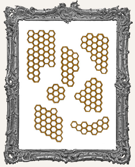 Honeycomb Bit Cut-Outs - 7 Pieces
