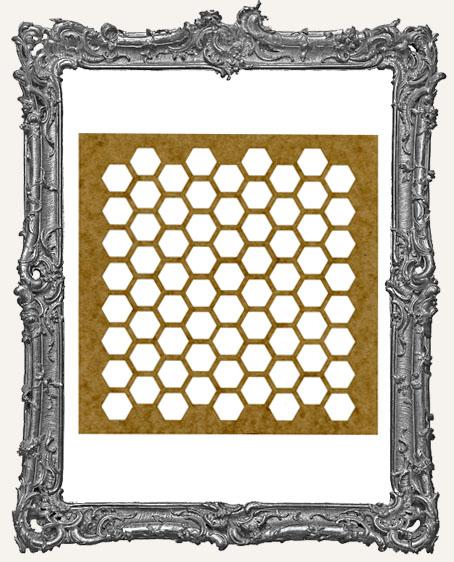 LARGE Honeycomb Stencil