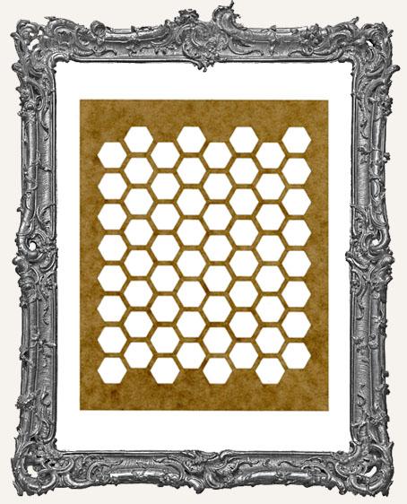 SMALL Honeycomb Stencil