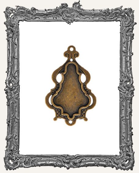 A Gilded Life Bronze or Silver - Chandelier Bezel LARGE