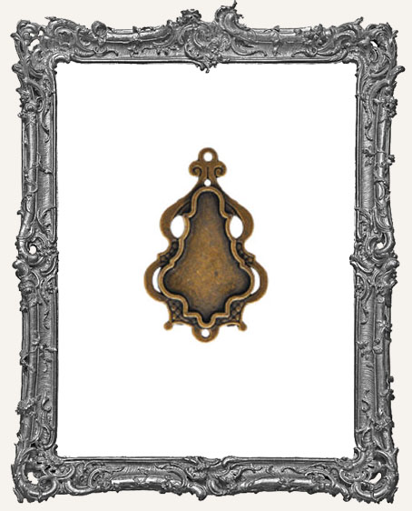 A Gilded Life Bronze or Silver - Chandelier Bezel SMALL