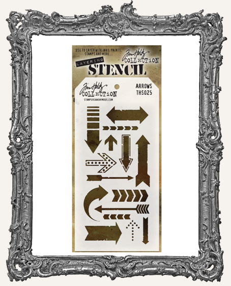 Tim Holtz Layering Stencils - ARROWS