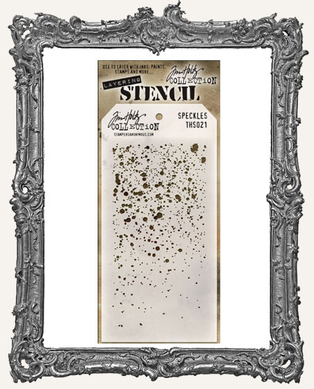Tim Holtz Layering Stencils - SPECKLESS