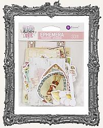 Prima Marketing - Magic Love Ephemera 33 Pieces