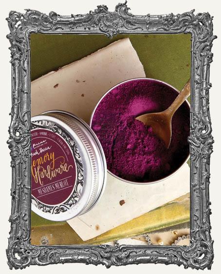 Prima Memory Hardware Artisan Powder - Mesdames Merlot