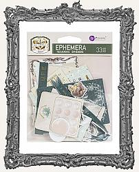 Prima Marketing - My Sweet Cardstock Ephemera 33 Pieces