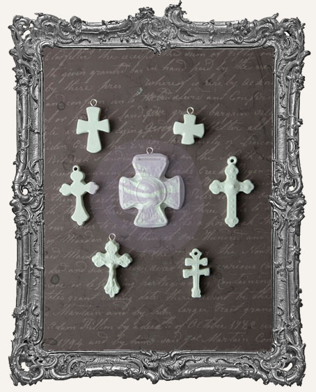 Sandra Evertson RELICS and ARTIFACTS - Archival Cast - Crosse Icons