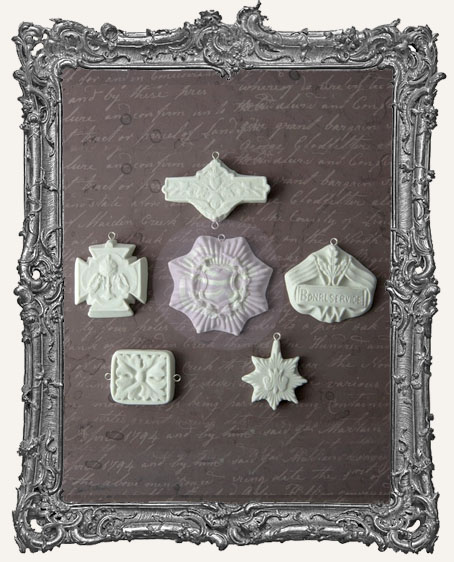 Sandra Evertson RELICS and ARTIFACTS - Archival Cast - Medallions