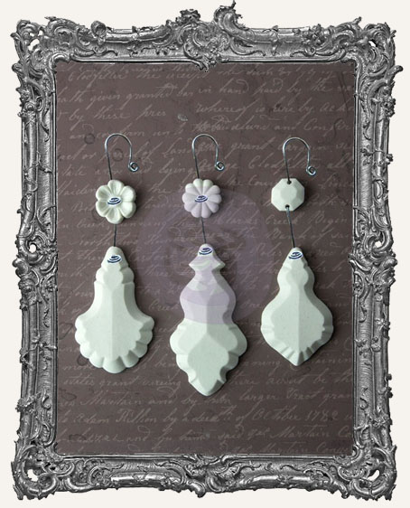 Sandra Evertson RELICS and ARTIFACTS - Archival Cast - Chandelier Pendants III