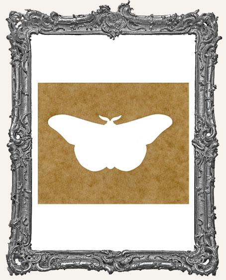 SMALL Moth Stencil Style 1