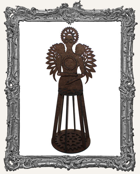3-D Articulated STEAMPUNK Santos Cage Doll Shrine Kit - LARGE