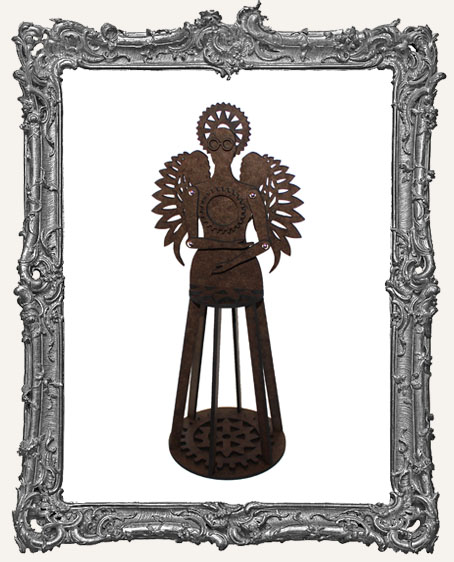 3-D Articulated STEAMPUNK Santos Cage Doll Shrine Kit - MEDIUM