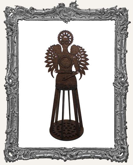 3-D Articulated STEAMPUNK Santos Cage Doll Shrine Kit - MEDIUM
