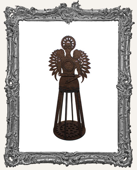 3-D Articulated STEAMPUNK Santos Cage Doll Shrine Kit - SMALL
