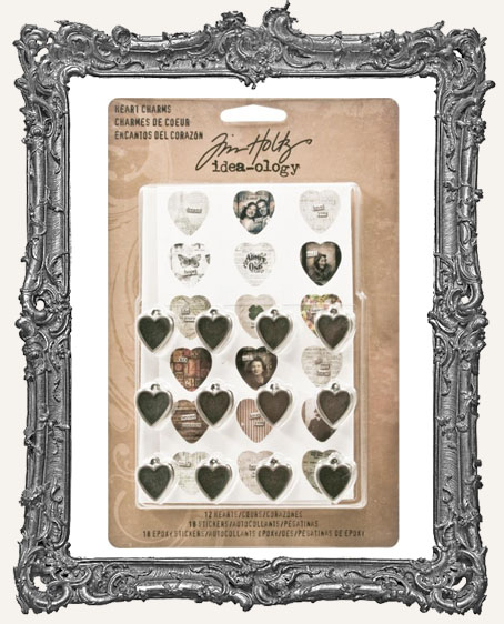 Tim Holtz - Heart Charms