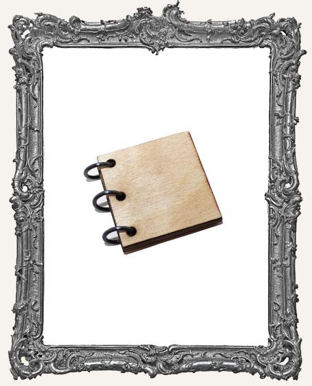 Inchie Wood Album Mini Book Kit - 1.5 Inch