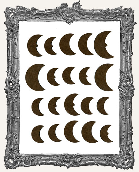 Moon Cut-Outs - 20 Pieces