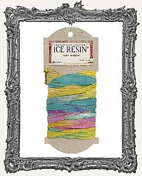 Ice Resin Silk Sari Ribbon - Jewel