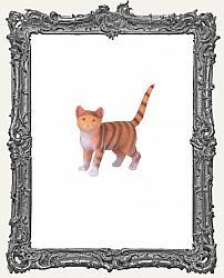 Mini Orange Tabby Cat - 1 Piece