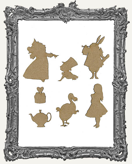 Alice Cut-Outs Set 1 - 7 Pieces