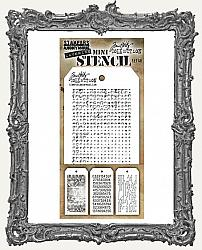 Tim Holtz Mini Layered Stencil Set - Halftone Set 48
