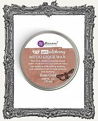 Finnabair - Art Alchemy - Antique Brilliance Wax - Rose Gold