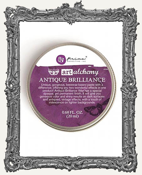 Finnabair - Art Alchemy - Antique Brilliance Wax - Amethyst Magic - Tube Packaging