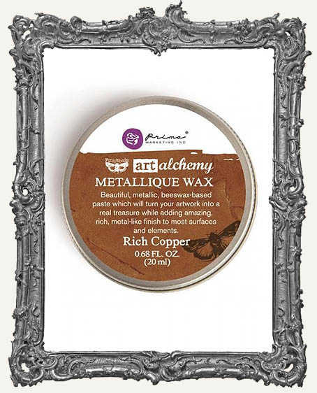 Finnabair - Art Alchemy - Antique Brilliance Wax - Rich Copper