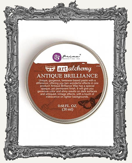 Finnabair - Art Alchemy - Antique Brilliance Wax - Red Amber