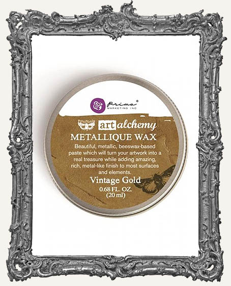 Finnabair - Art Alchemy - Antique Brilliance Wax - Vintage Gold