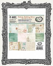6X6 Paper Pack 49 And Market Collection - Vintage Artistry Shore
