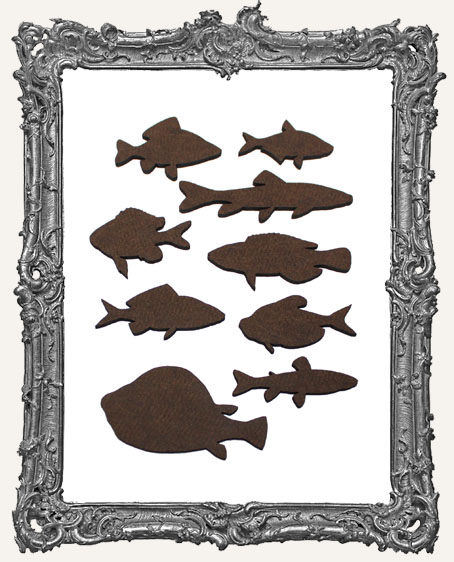 Fish Cut-Outs - 9 Pieces