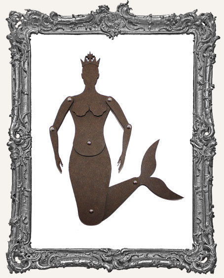 Articulated Mermaid Art Doll Kit - SMALL, MEDIUM, or LARGE