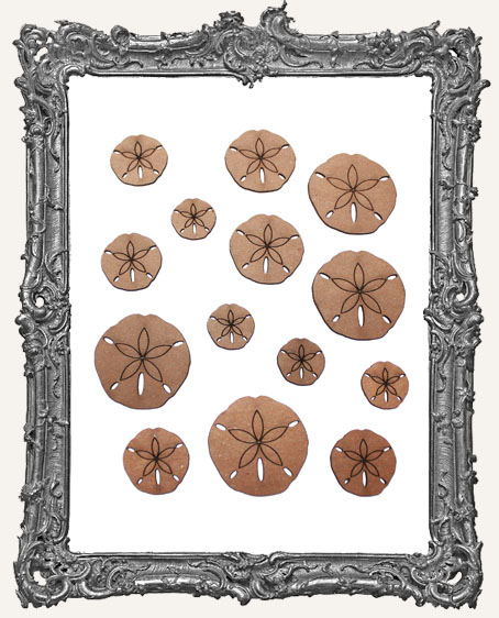 Sand Dollar Cut-Outs - 14 Pieces