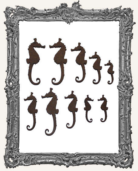 Seahorse Cut-Outs - 10 Pieces