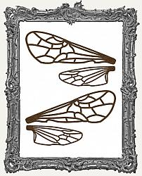 Large Ornate Insect Wings - One Set - 4 Pieces