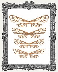Ornate Insect Wing Cut Outs - 4 Sets - 16 Pieces