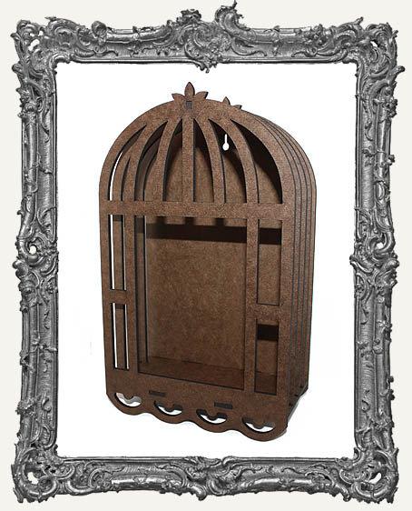 Large Ornate 3-D Bird Cage Shrine Kit