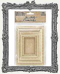 Tim Holtz - Idea-ology Collection - Wooden Vignette Frames