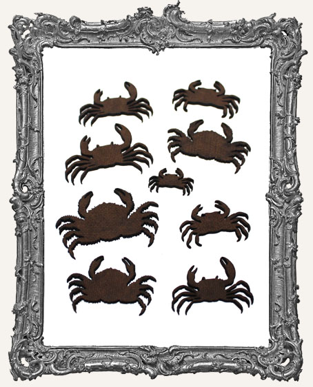 Crab Cut-Outs - 9 Pieces
