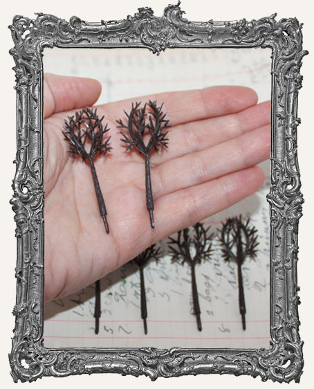 Miniature DEAD Trees - Set of 2