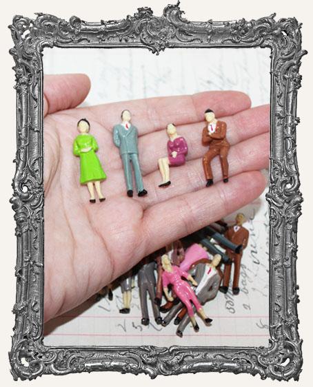 Miniature People Set of 4 - SMALL