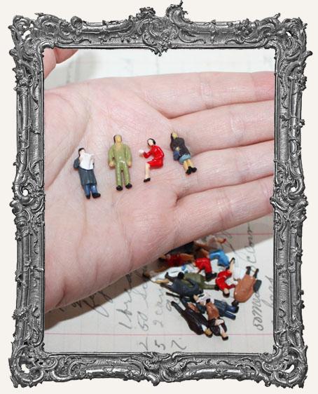 Miniature People Set of 4 - XSMALL