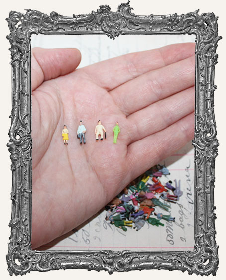 Miniature People Set of 4 - XXSMALL